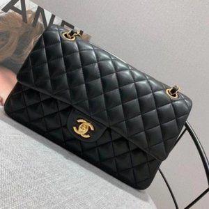 💖Authentic💯%CHANEL💯% C.C Double Chain Shoulder Bag